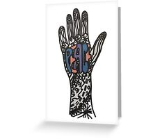Peace on Hand Greeting Card