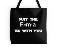 Star Wars Physics Force Black Tote Bag