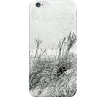 Snow Light in Black and White iPhone Case/Skin