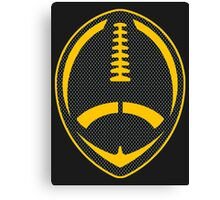 Vector Football - Steelers Canvas Print