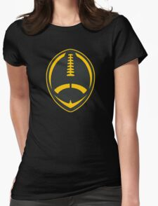 Vector Football - Steelers Womens Fitted T-Shirt