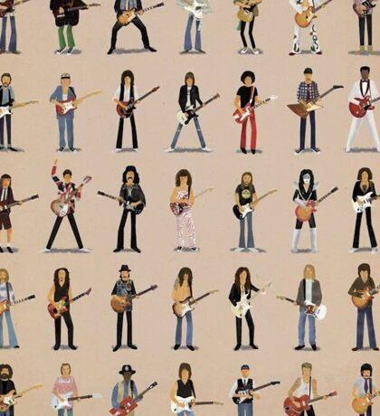 Cartoon Guitarists Sticker