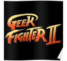 Street Fighter II - Geek Fighter II Poster