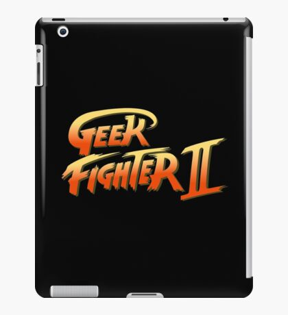 Street Fighter II - Geek Fighter II iPad Case/Skin