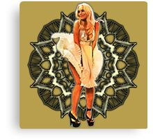 Lindsay Marilyn Lace Canvas Print