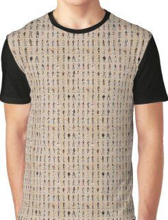 Cartoon Guitarists Graphic T-Shirt