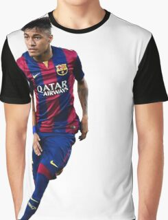 neymar, barça, barca, brasil, brazil, 10, 11, messi, n Graphic T-Shirt