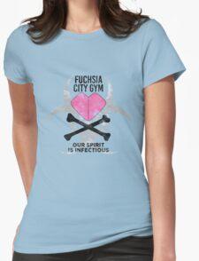 Fuchsia City Gym Womens Fitted T-Shirt