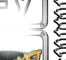 Lemmium...a heavy metal element Sticker