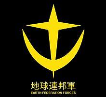 Gundam EFS Earth Federation Force Logo by kyzson69
