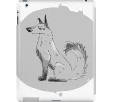 grey dog iPad Case/Skin