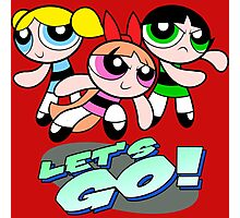 Powerpuff girls Photographic Print