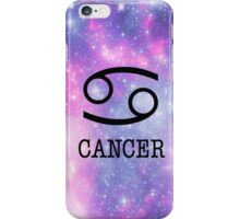 Galaxy Cancer iPhone Case/Skin