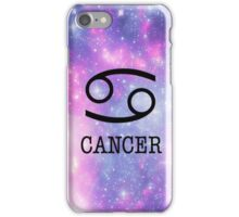 Galaxy Cancer iPhone Case/Skin