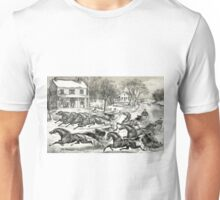 A brush for the lead - Currier & Ives1867 Unisex T-Shirt