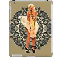 Lindsay Marilyn Lace White Glow iPad Case/Skin