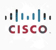 Cisco Logo White Glow Kids Clothes
