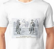 A changed man - Currier & Ives - 1880 Unisex T-Shirt