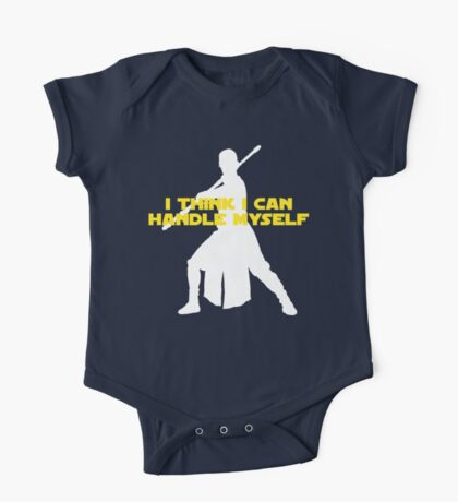 Rey - I Think I Can Handle Myself - Large Design One Piece - Short Sleeve