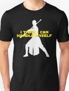 Rey - I Think I Can Handle Myself - Large Design T-Shirt