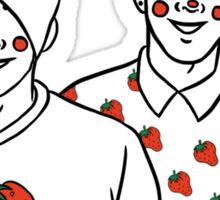 .strawberries. Sticker