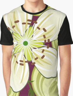 Blackthorn Tree Blossoms Graphic T-Shirt