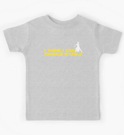 Rey - I Think I Can Handle Myself - Small Design Kids Tee