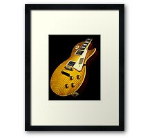 Gibson Les paul  Framed Print