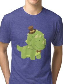 TriceraTop-Hat Tri-blend T-Shirt