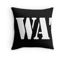 SWAT, Special Weapons and Tactics teams  Throw Pillow