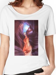 Antelope Canyon in Page, Arizona Women's Relaxed Fit T-Shirt
