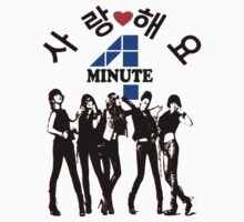 ♥♫SaRangHaeYo(Love) Hot Fabulous K-Pop Girl Group-4Minute Cool K-Pop Clothes & Phone/iPad/Laptop/MackBook Cases/Skins & Bags & Home Decor & Stationary♪♥ Baby Tee