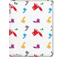 Color tattoo machines iPad Case/Skin