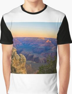 Serene Sunrise at Grand Canyon Graphic T-Shirt