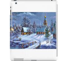Winter Scene iPad Case/Skin