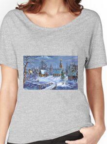 Winter Scene Women's Relaxed Fit T-Shirt