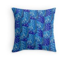 Abstract 341H Throw Pillow