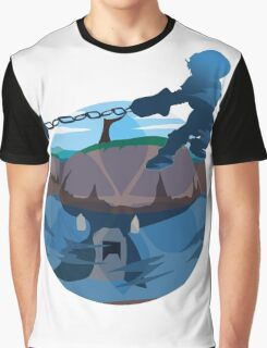 Water Temple Graphic T-Shirt