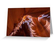 Antelope Canyon in Page, Arizona Greeting Card