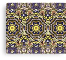 Abstract Geometric Indian Pattern Canvas Print