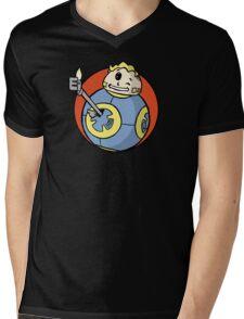 Ballout Mens V-Neck T-Shirt