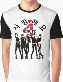 ♥♫SaRangHaeYo(Love) Hot Fabulous K-Pop Girl Group-4Minute Cool K-Pop Clothes & Phone/iPad/Laptop/MackBook Cases/Skins & Bags & Home Decor & Stationary♪♥ Graphic T-Shirt