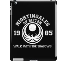 Nightingales of riften - black iPad Case/Skin