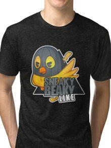 """Sneaky Beaky Like"" | HUGE | BLACK BACKGROUND | CSGO | Logo | High Quality Tri-blend T-Shirt"