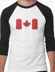 Beer Can-ada Men's Baseball ¾ T-Shirt