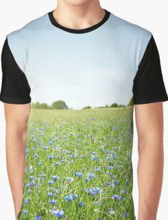 Cornflower field Graphic T-Shirt