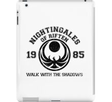 Nightingales of riften iPad Case/Skin