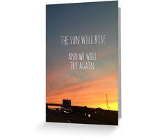 Twenty One Pilots - Truce Greeting Card