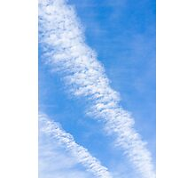 Clouds with blue sky Photographic Print