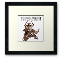 Pinsir Pride (Pokémon/Simpsons) Framed Print